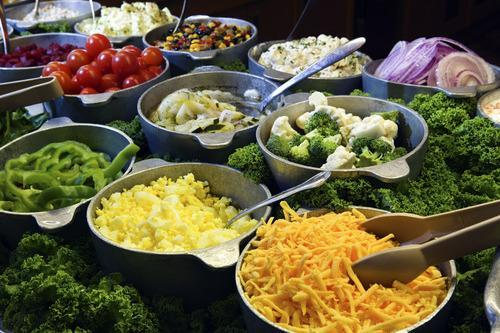 cruise buffet salad bar