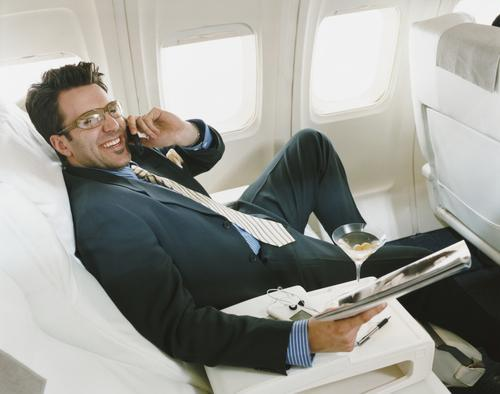 Cell Phones on a Plane Might Not Be as Bad as You Think