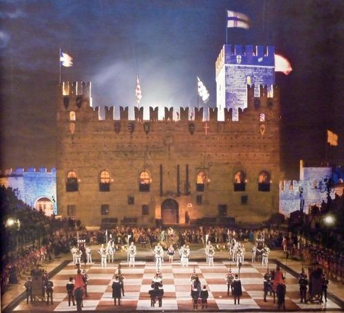 human chess in marostica italy