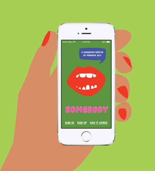 Artist Miranda July Releases Bizarre Messaging App