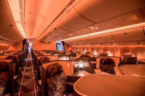 A Lounge in the Sky: A Look at China Airlines' Swanky New Plane