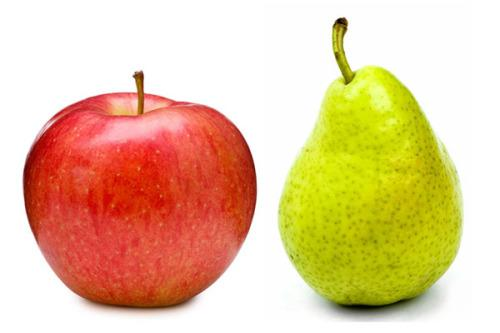 This Is Why You Have An Apple-Shaped (Or Pear-Shaped) Body