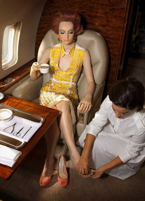 A Beauty Obsessive's In-Flight Entertainment