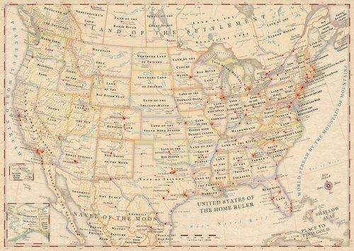 What Does Your State's Name Really Mean? This Atlas Tells You