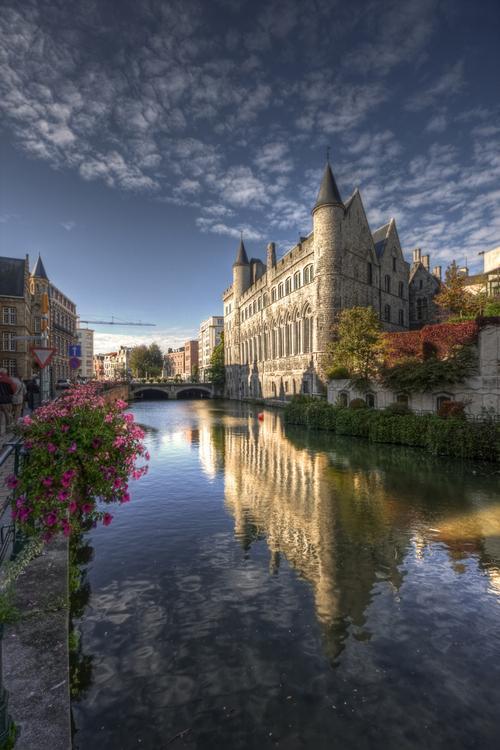 castle ghent belgium WWI