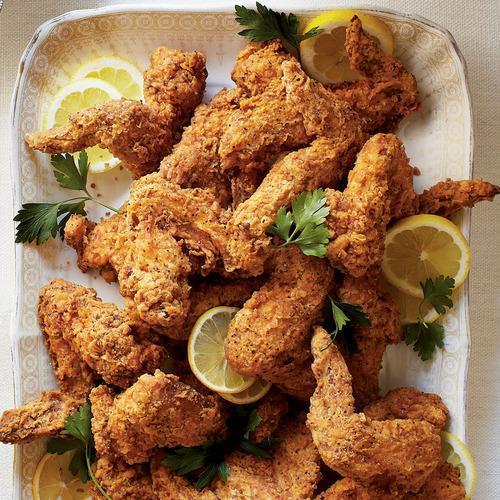 Tea-Brined Batter Fried Picnic Chicken Recipes — Dishmaps