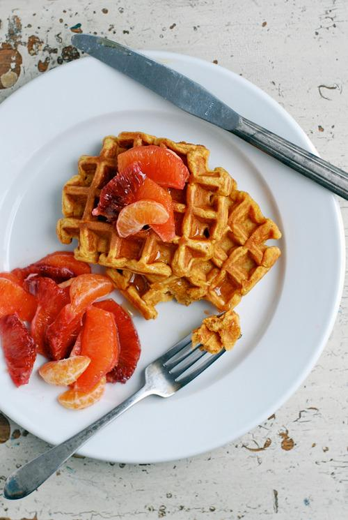 Sweet Potato Waffles From 'Brooklyn Supper'