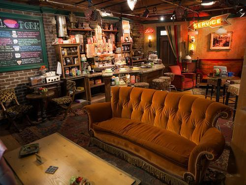 """Friends"" Pilgrimage: Central Perk Opening in NYC"