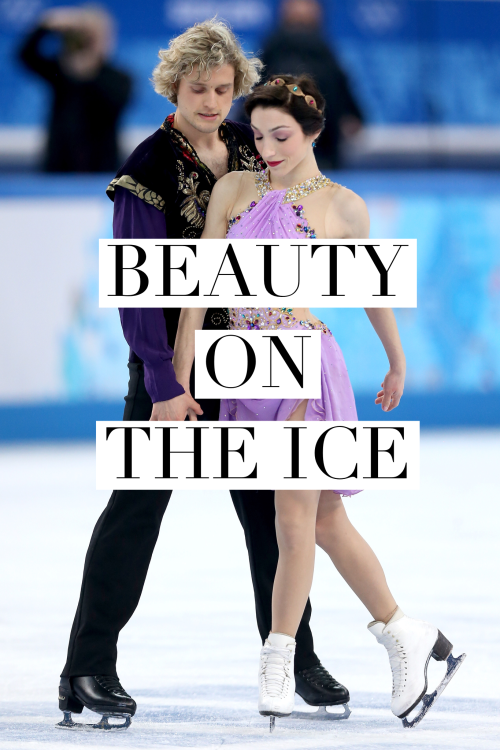 Olympic Ice Dancers Dish on Their Beauty Routines