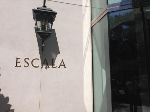 Signage at Escala Seattle