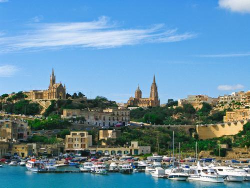 marina in Malta