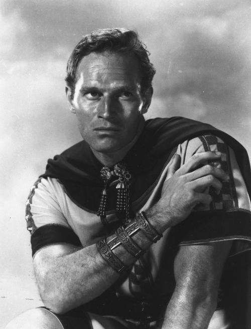 Charlton Heston in 1959 epic Ben-Hur