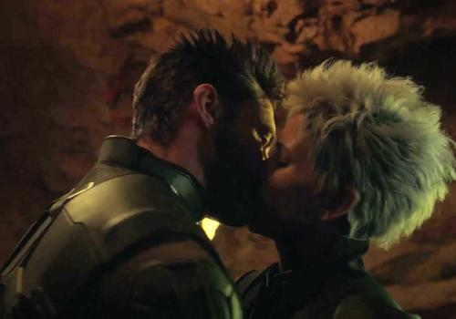 Wolverine Kisses Storm in X-Men  Days Of Future Past DVD Deleted Scene    X Men Days Of Future Past Storm