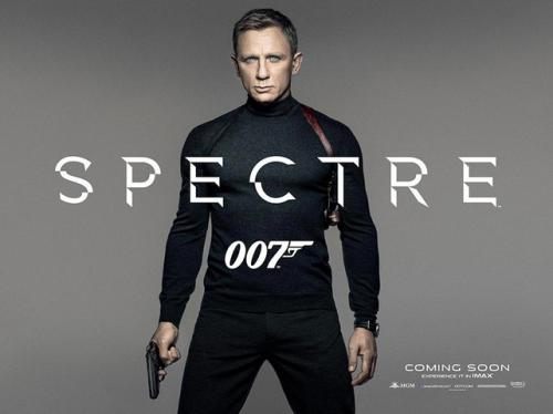 The First 'Spectre' Poster Finds James Bond in Old-School Gear