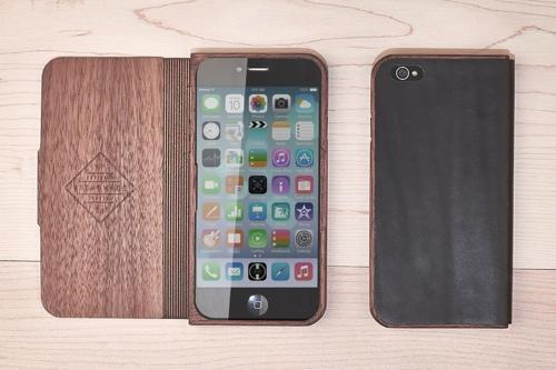 Grovemade Walnut and Leather iPhone case