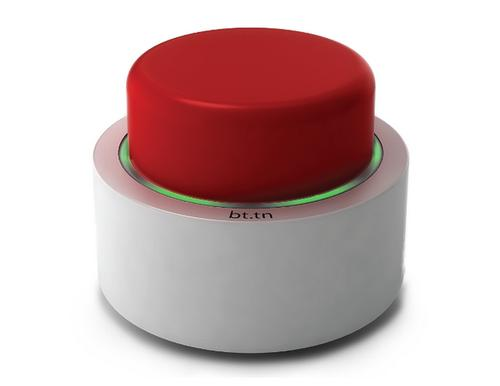 This Big Red Button Does Everything from Starting the Coffee Maker to Ordering Pizza