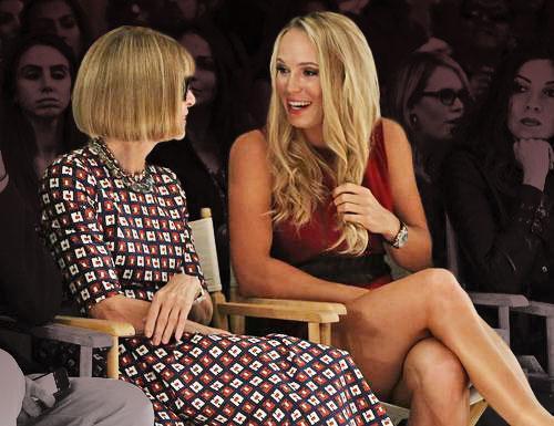 Caroline Wozniacki Gets a Haircut at Anna Wintour's Behest