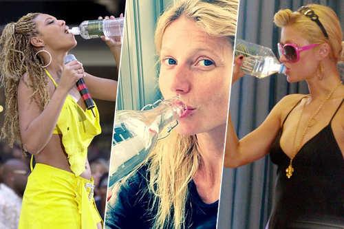 33 Celebrities On Drinking Water