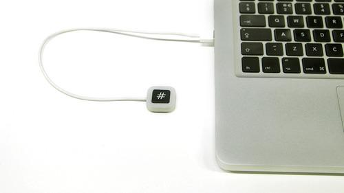 Someone Made a Keyboard That Is Nothing but a #Hashtag