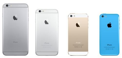 iPhone 6 vs. 6 Plus vs. 5s vs. 5c: Which Apple Phone ...