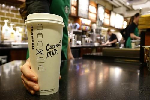 Coconut Milk, Soy Milk, Almond Milk? All of Starbucks's Non-Dairy Options
