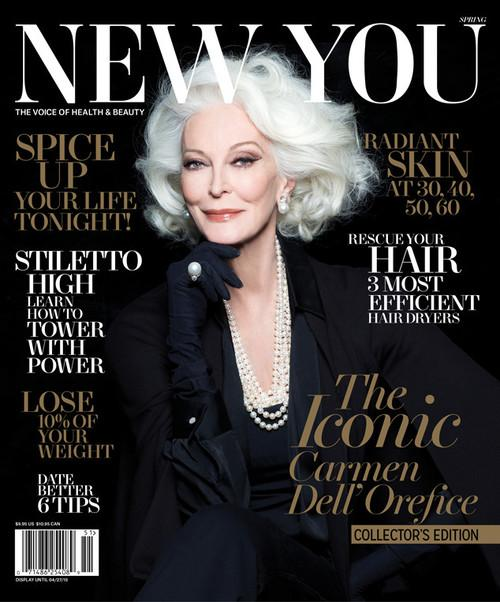 83-year-old Model Carmen Dell'Orefice Lands Magazine Cover