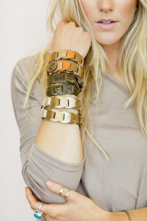 bracelets closeup
