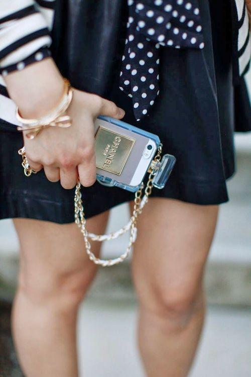 Chanel Iphone Case Tumblr of Diy Chanel Iphone Case
