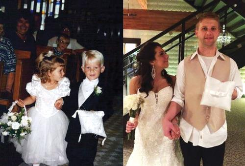 Kids Paired Up at a Wedding 20 Years Ago Get Married