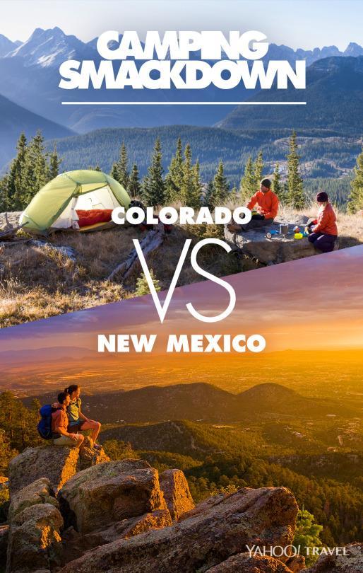 Rocky Mountain Camping Smackdown: Colorado vs New Mexico