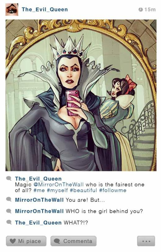 An Artist Reimagines Disney Princesses Taking Selfies