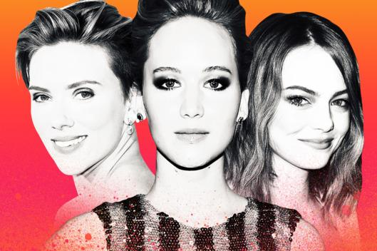 Emma Stone, Jennifer Lawrence, and Scarlett Johansson Have an Older-Man Problem