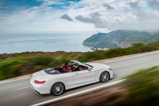 2017 Mercedes-Benz S-Class Cabriolet Arrives After 44-Year Hiatus