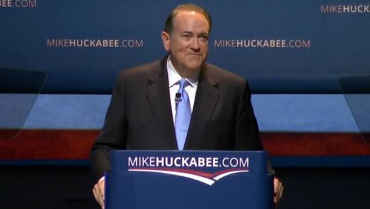 Former Arkansas Gov. Mike Huckabee announces White House bid