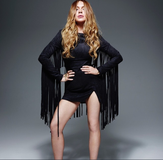 Lindsay Lohan Is Back With Another Fashion Collaboration