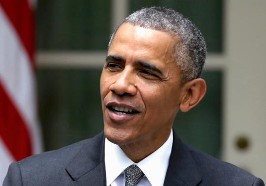 Obama's approval rating hits two-year high