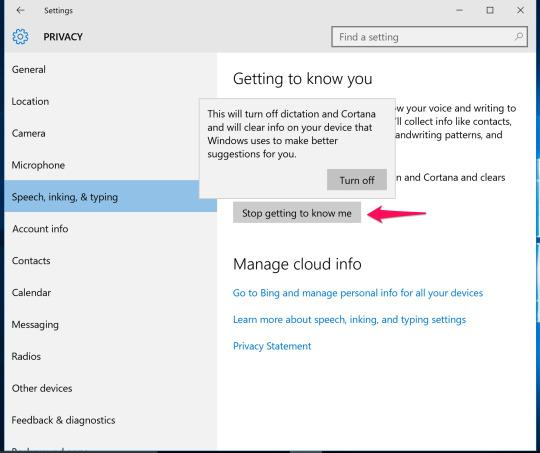 how to get rid of windows 10 spying