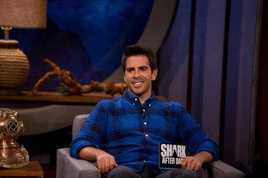 Shark Week: Eli Roth On His After Show, Kissing a Shark, Prepping for 'Meg'