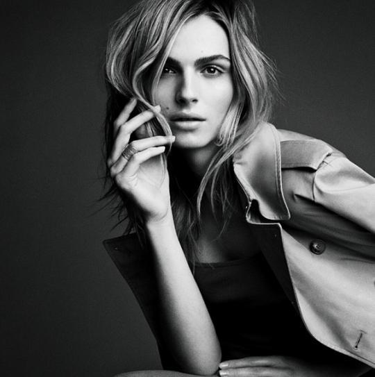 """Vogue"" Features Its First Transgender Model, Andreja Pejic"