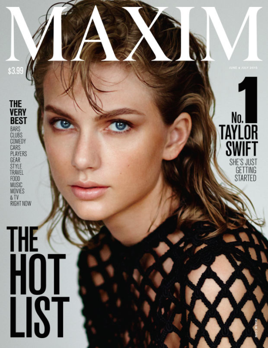 Taylor Swift Tops Revamped Maxim Magazine's Hot 100 List