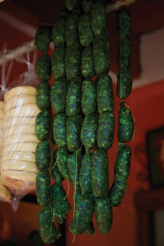 Homemade Green Chorizo from 'Eat Mexico'
