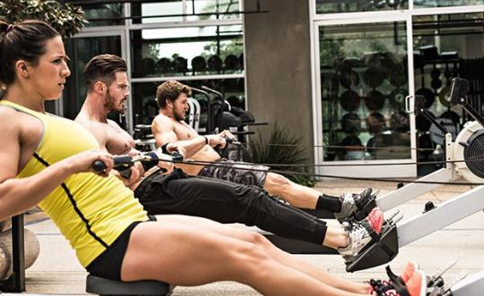 rowing machine how to use