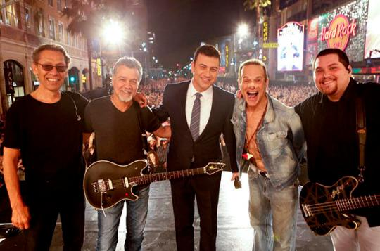 Watch Van Halen Rock 'Panama' & 'Runnin' With the Devil' on 'Kimmel'
