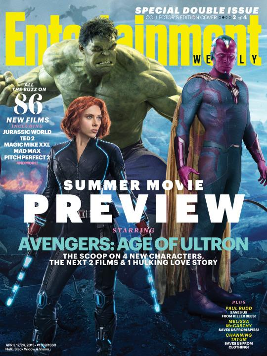 The Vision in Full View! 'Avengers: Age of Ultron' Mystery Hero Finally Unveiled