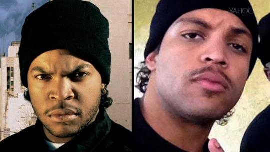 96b03e568e0b Ice Cube Says Son Playing Him in  Compton  Was Like  Back to the Future