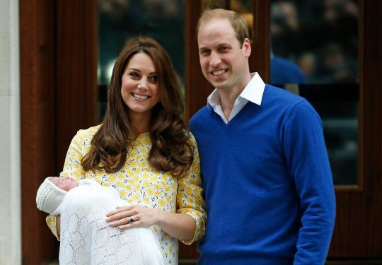 Kate Middleton, Prince William Share First Photo of Baby