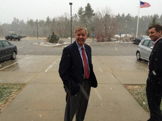 Why is Lindsey Graham considering a presidential run?