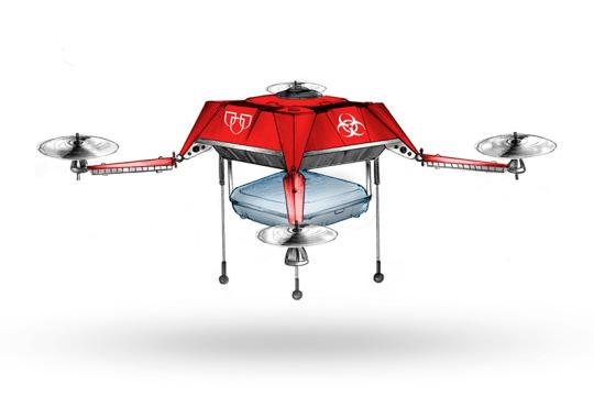 The Mayo Clinic Wants to Deliver Blood via Drone
