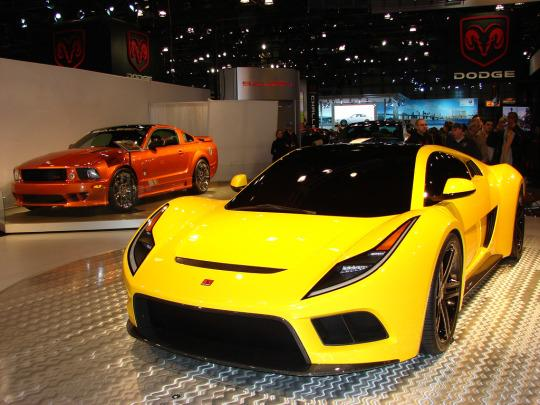 Saleen S5s Raptor Shows Itself