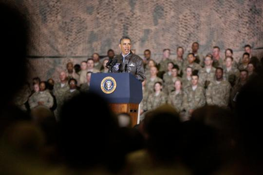 In Iran deal fight, Obama highlights his wars
